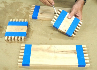Glue-up the Sides