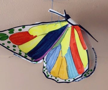 Butterfly Hanging Decor