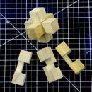 Make and Solve a 3 Piece Burr Puzzle