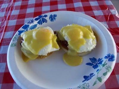 Camp Style Eggs Benedict