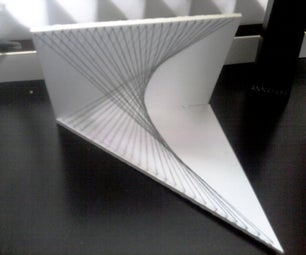 Solid Figure Illusion With Sheets Ans Strings