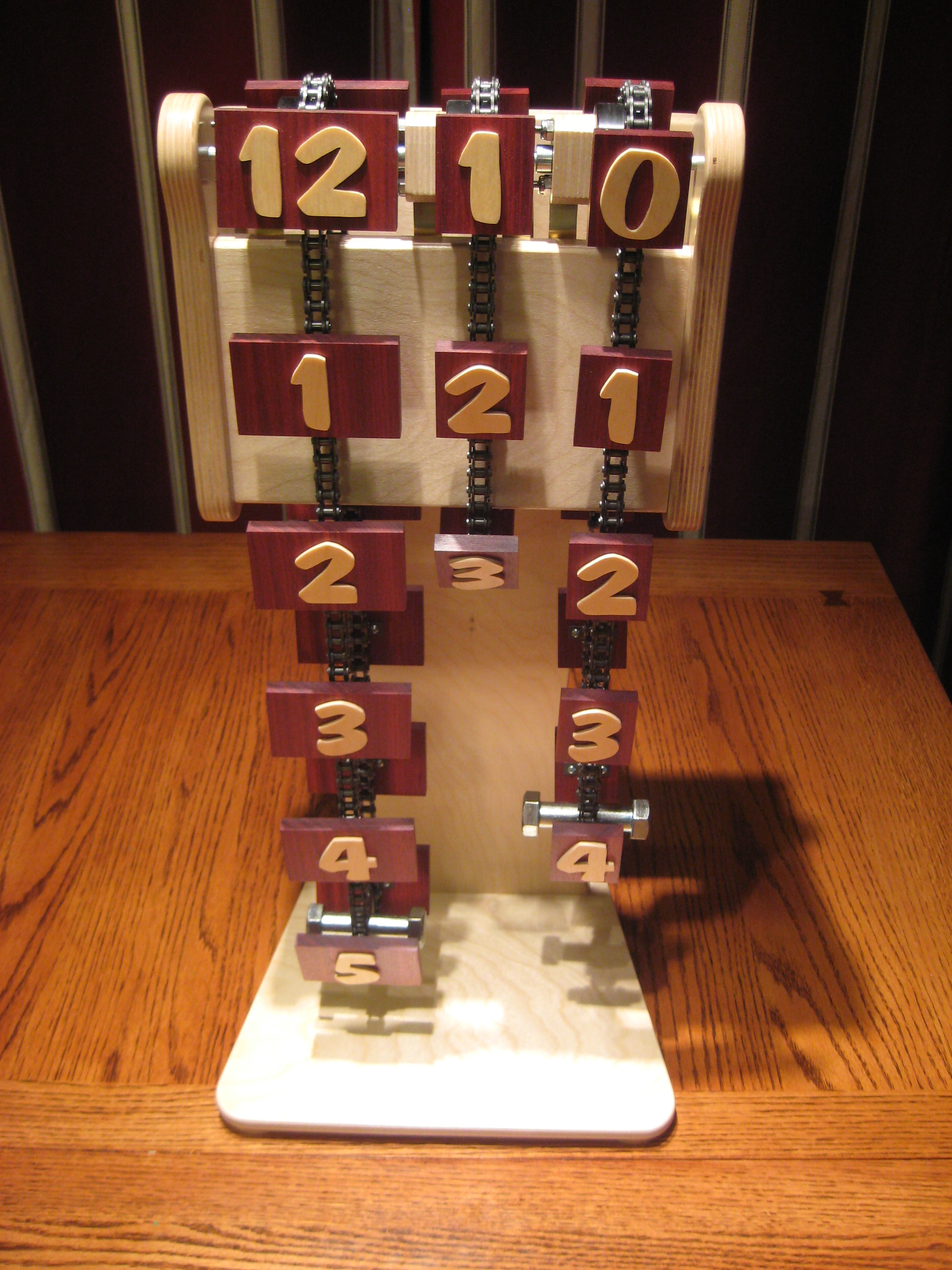 How to build a Chain Clock