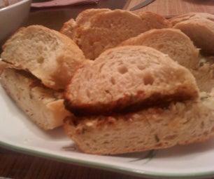Easy Cheesy Garlic Bread