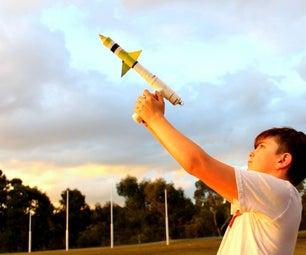 Gas Propelled Rocket Launcher