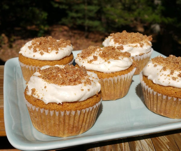 Vegan & Gluten Free Pumpkin Cupcakes