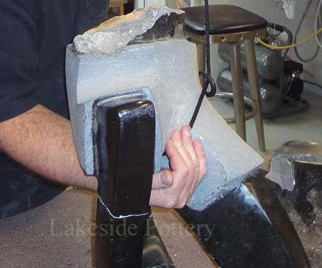 Repairing a Stone Sculpture or Statue