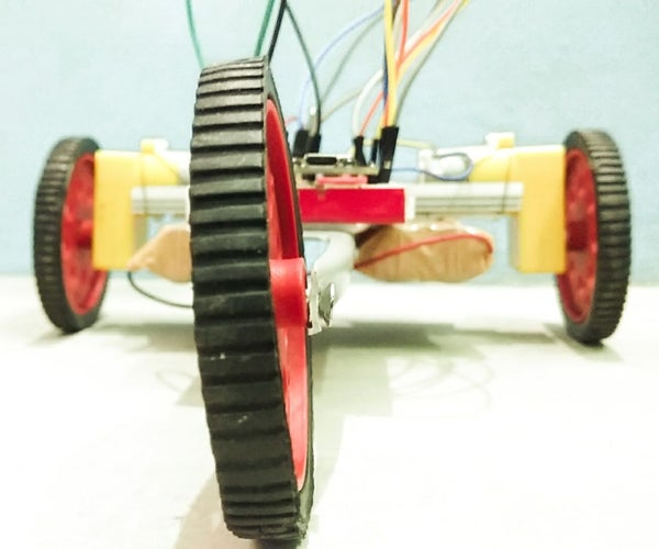 ESP8266 Based Wi-Fi Controlled Bot With a Smartphone