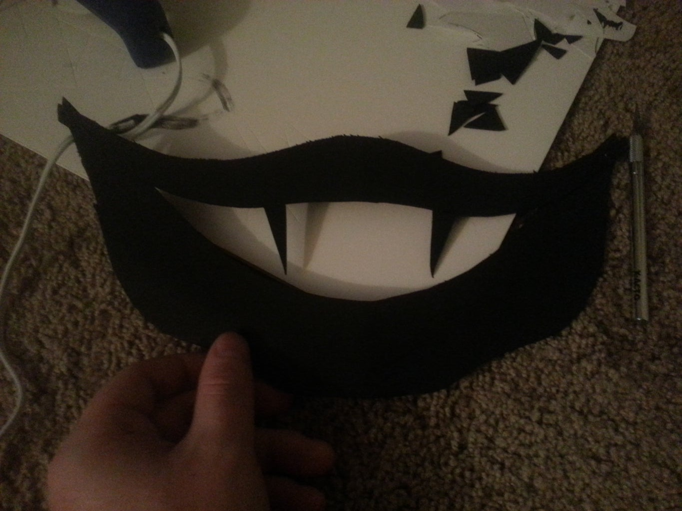 The Face (Part One - Mouth Build)