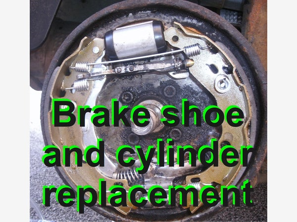 Replacing Rear Brake Shoes and Brake Cylinder on an '06 Citroen C3