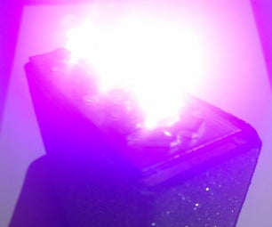 UltraViolet Led Flashlight (Li-ion)