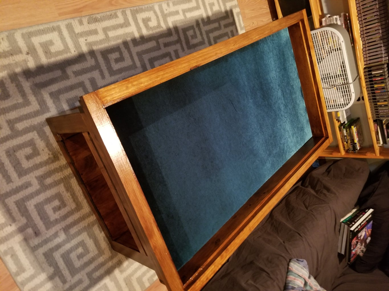 Gaming Coffee Table With Hidden Vault