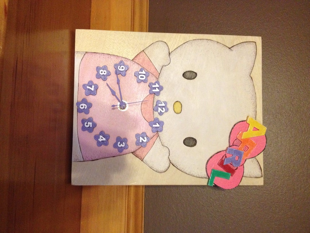 Hello Kitty Clock - Gift for April #3
