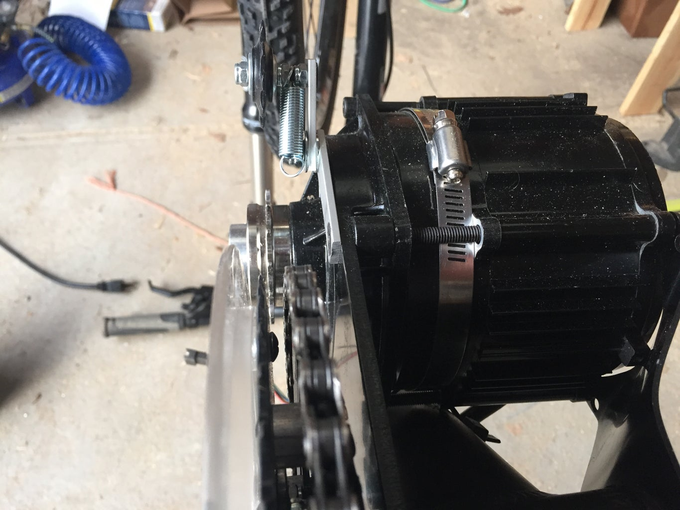 Assembly Part 5: Motor, Cranks, and Chains