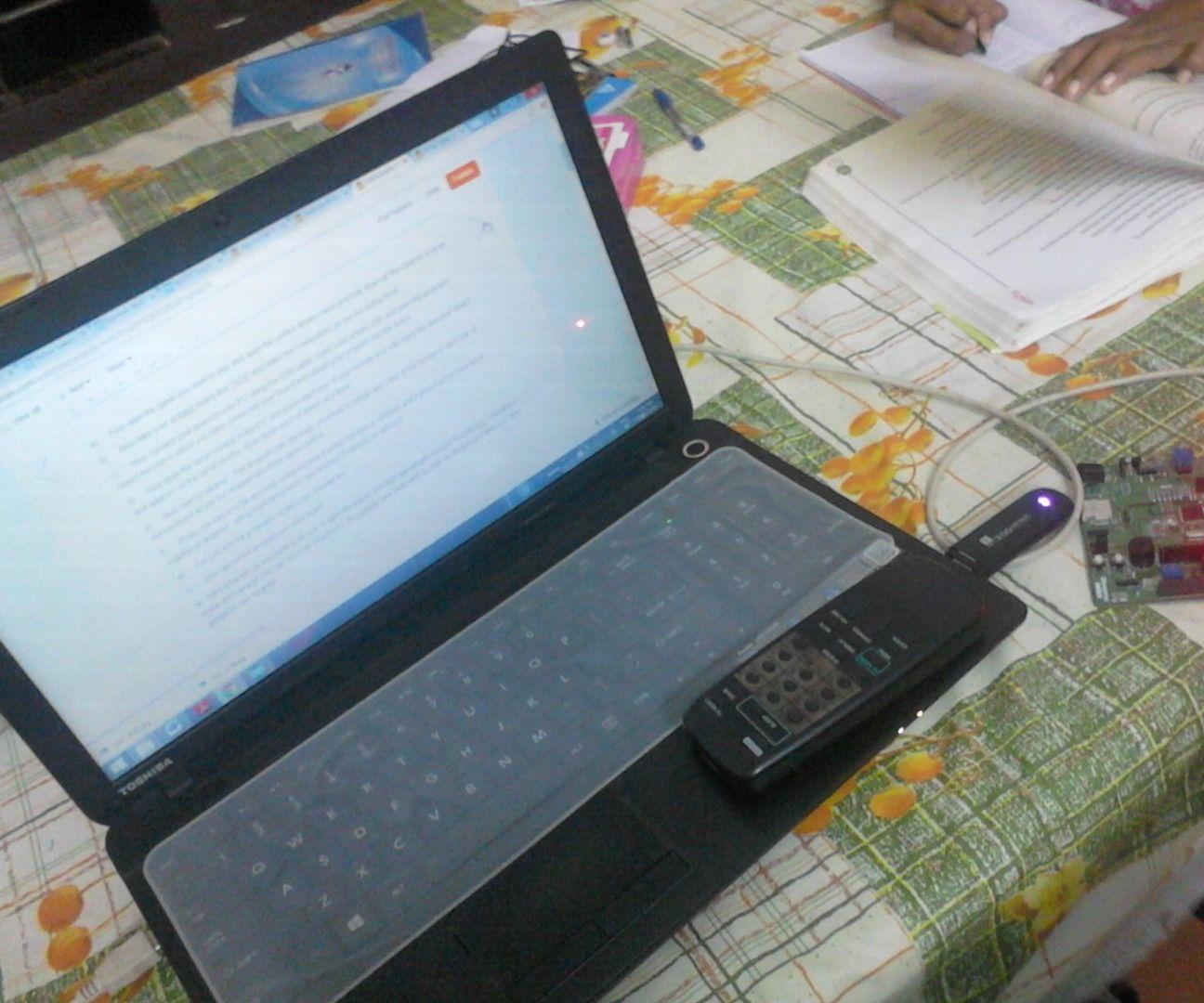 VLC Media Player control using IR remote