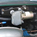 Classic car windshield wiper vacuum motor replacement