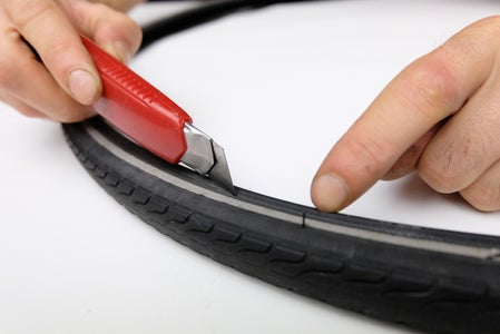 Cut Off the Beads of the Tyre
