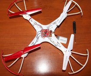 Quadcopter Repair - Motor Replace