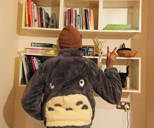 How to Make a Super Fluffy Totoro Jacket ( Inspired by My Neighbour Totoro) 🍁🍁