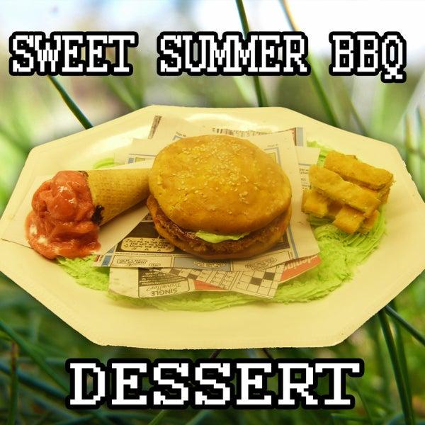 Sweet 'Summer BBQ' Dessert
