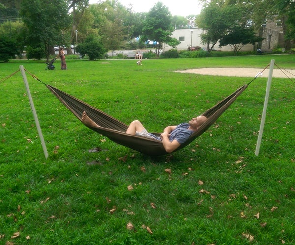 Free-Standing Portable Hammock Stand