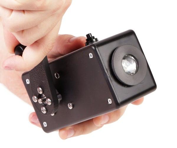 Hand Crank Flashlight