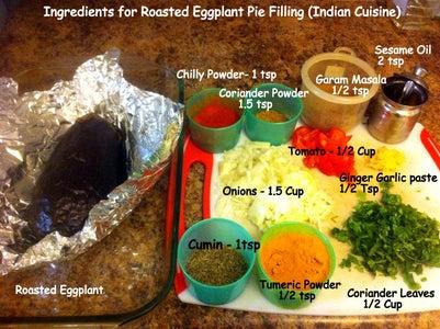 Make Roasted Eggplant Pie Filling