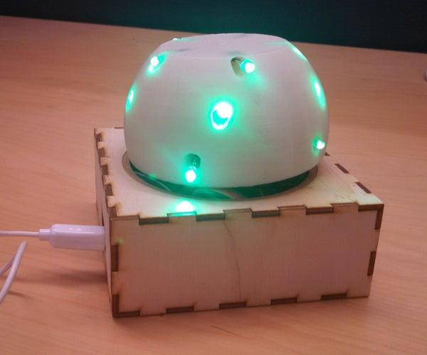 3D Printed Glowing Orb