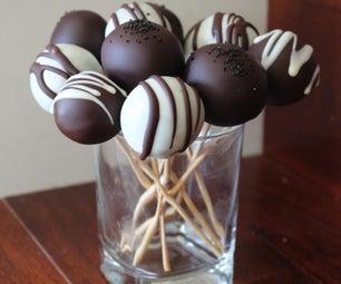 Classy Chocolate Cake Pops