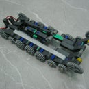 How to make a simple tank toy using LEGO