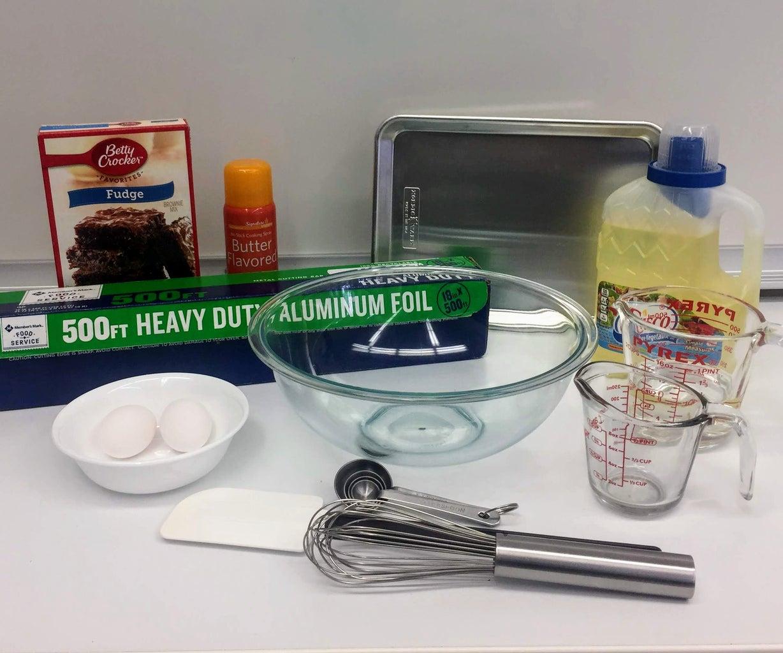 Gather Ingredients, Tools, & Equipment