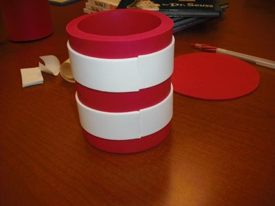 "Apply White Stripes to ""Hat"""