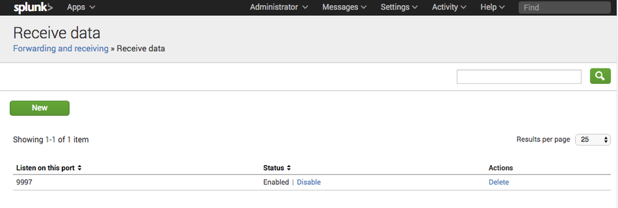 Install Splunk and the Universal Forwarder