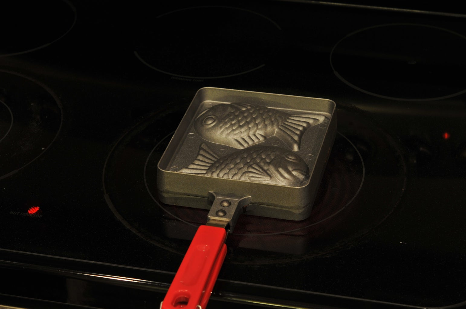 Close the Mold, Flip, and Cook for 30 Seconds on Medium-Low Heat