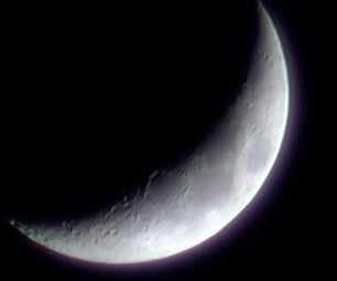 40$ USB Super Telescope, Easy to Make, Sees Craters on the Moon