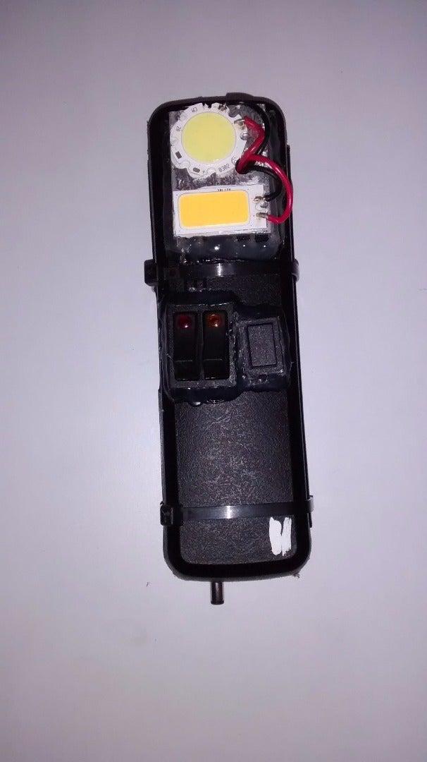 Home-Made LED Flashlight USB Charger (12V 1.8Ah Li-ion Battery!)
