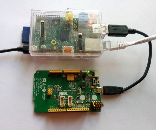 Program the Linkit One Using a Raspberry PI