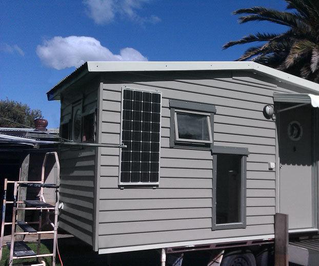 Tiny Studio on Wheels... Tasmania Australia.