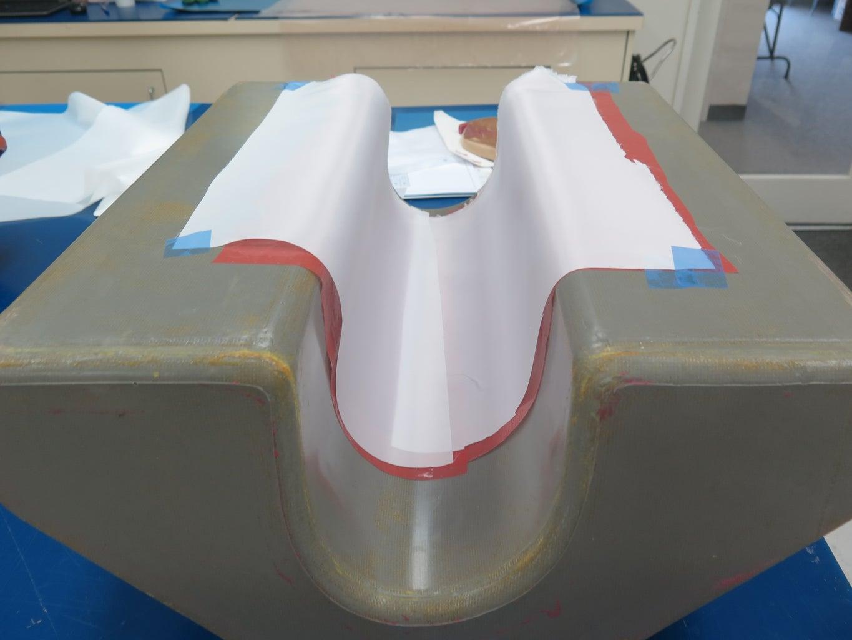 Leading Edge Layup - Air Flow