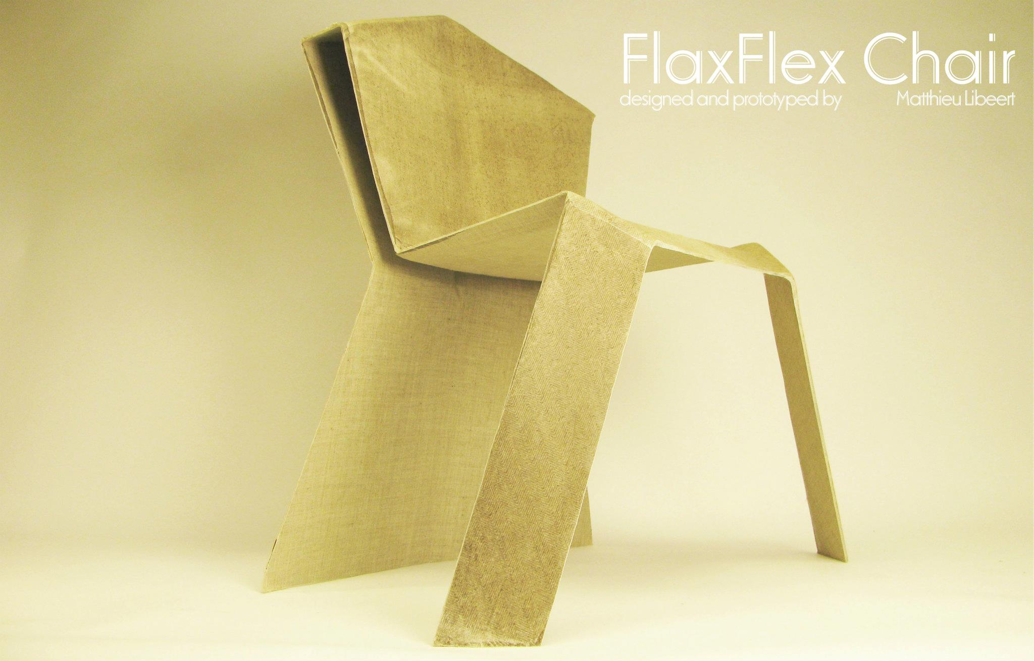 Flax Fiber Chair - Making of