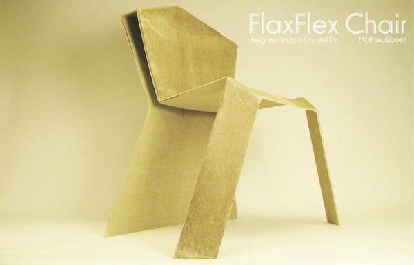Flax Fiber Chair - Making Of