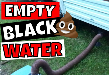 Drain and Flush Your Black-water Tank