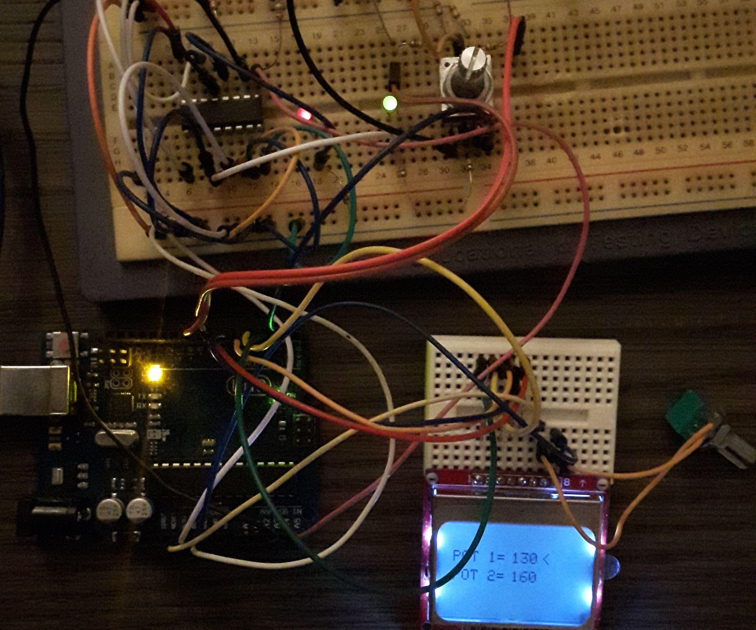 DS1803 Dual Digital Potentiometer With Arduino