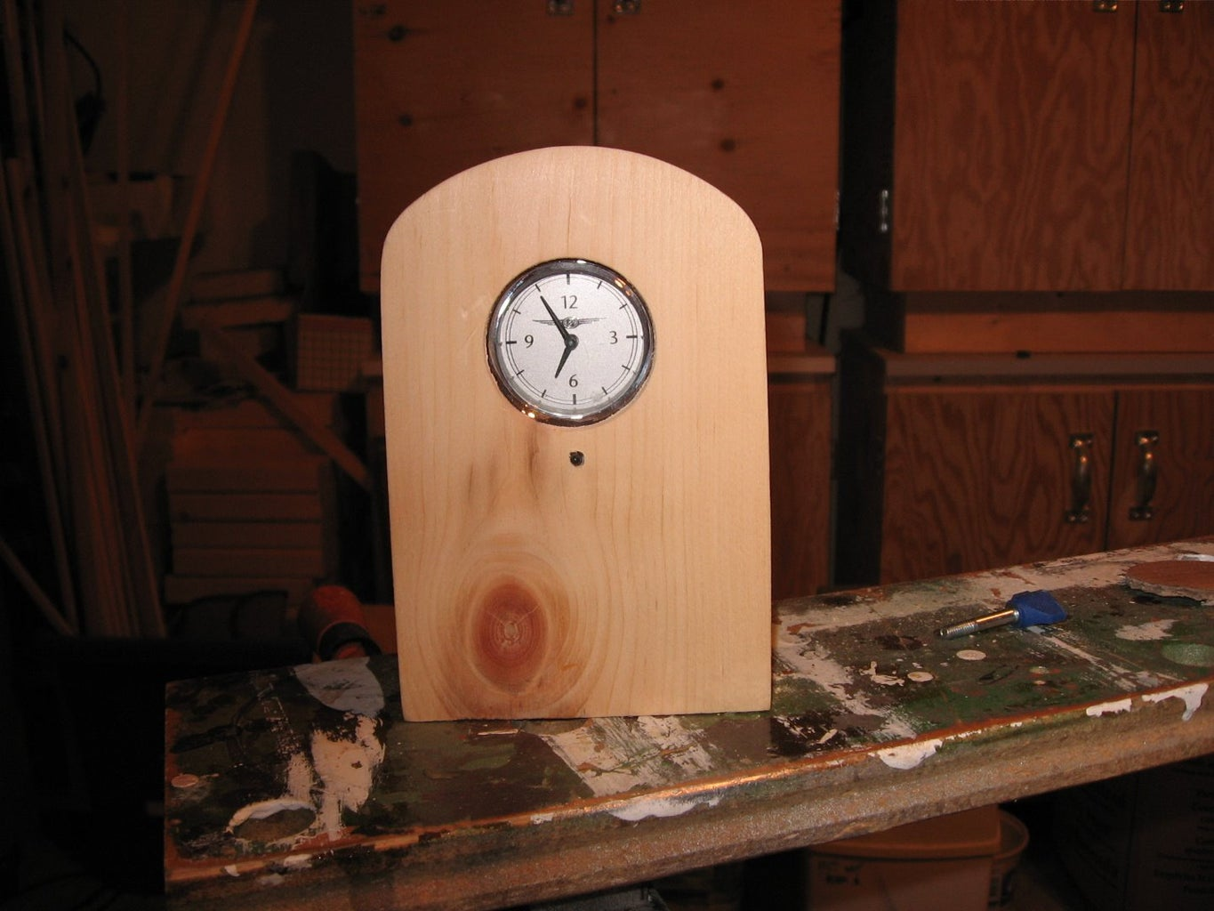Mating the Clock With the Cabinet