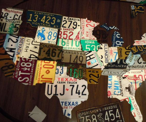 Create a License Plate Map