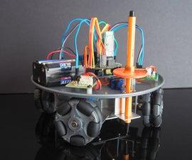 Omni Wheel CNC Plotter
