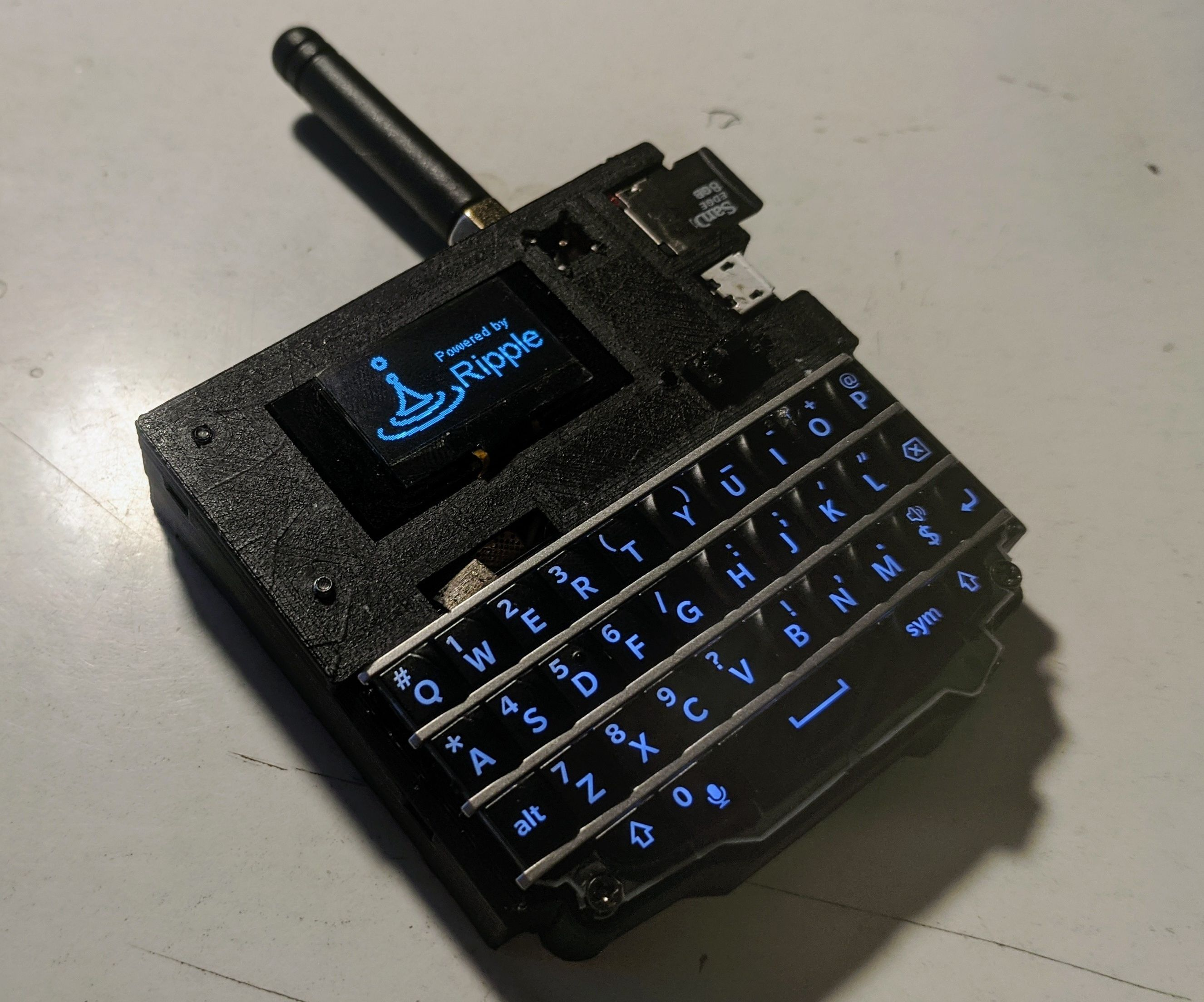 LoRa QWERTY Pager