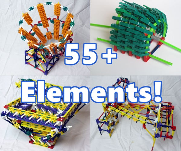 Citadel Knex Ball Machine Elements - Instructions