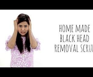 DIY Blackhead Removal Scrub