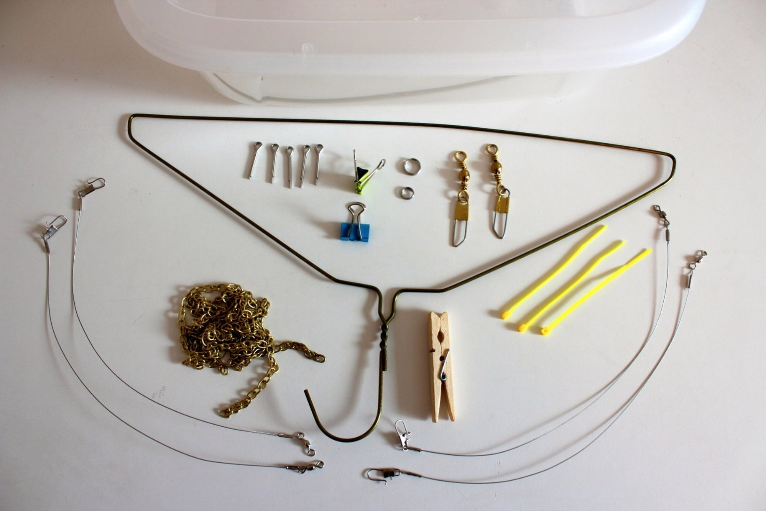 Parts Used for Drone Air One and Drone Air Two