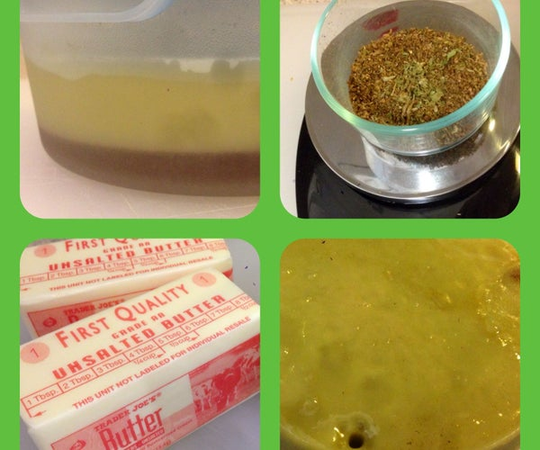 Cannabis Butter From Vaporizer Leftovers